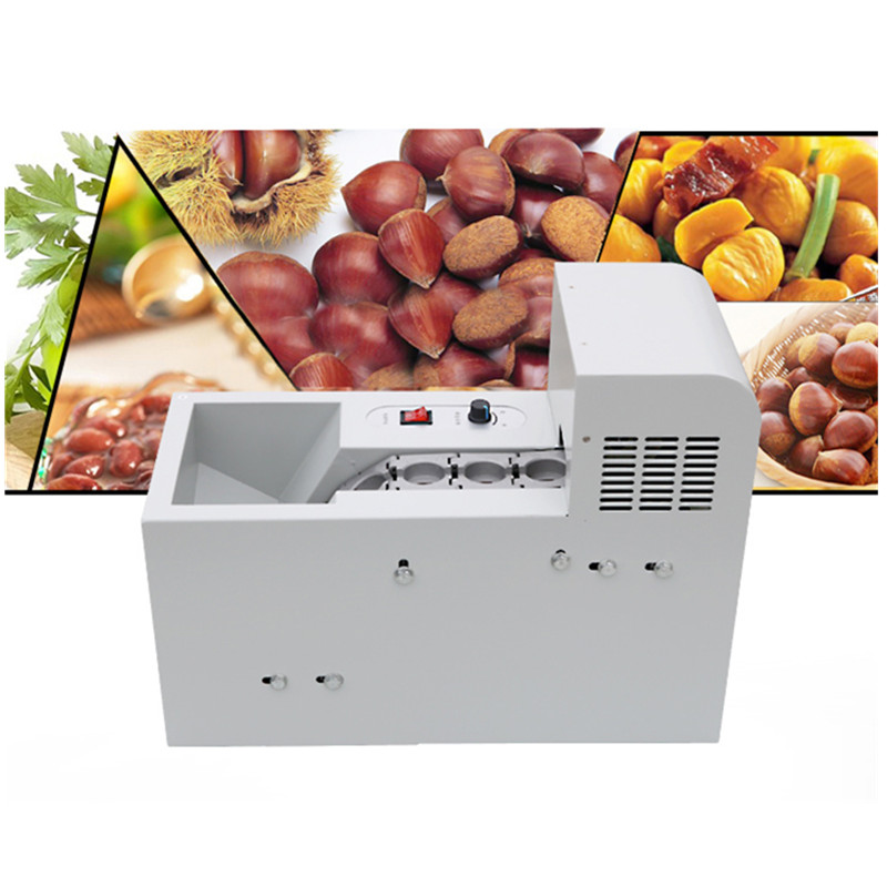 Small commercial chestnut opening machine chestnut incision machine nuts cutting machine   ZF шатура леон joy chestnut