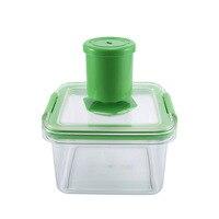 TAILUP Vacuum Sealed Food Storage Box Multi purpose Transparent Crisper Fruits Vegetables Food Container E2S