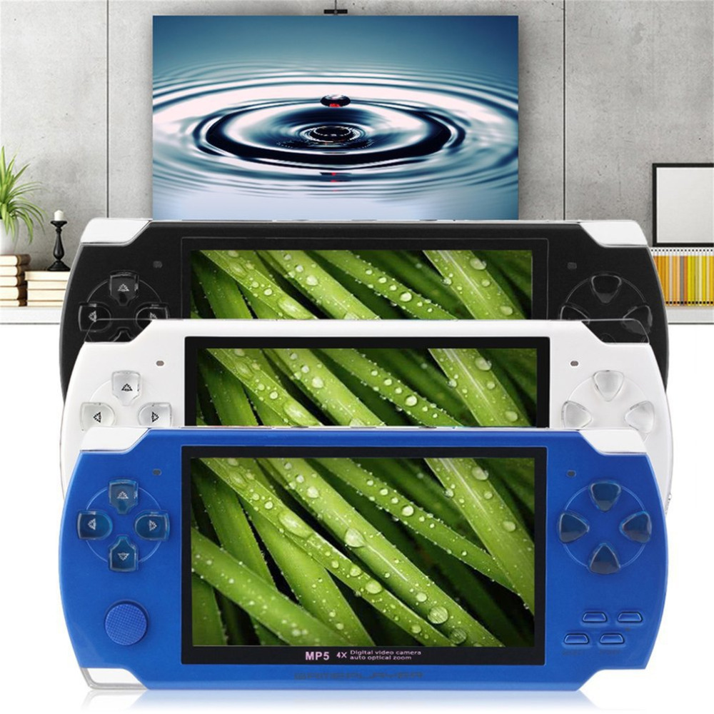 4.3 Inch 480*272 High Speed TFT Display Hand-held Video Game Console Player Compact Portable Video Music Game Console