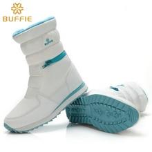 Mujeres blancas botas de invierno botas de nieve de moda nuevo estilo de la cremallera fácil de vestir otoño zapatos de alta calidad envío rápido libre de la muchacha de arranque