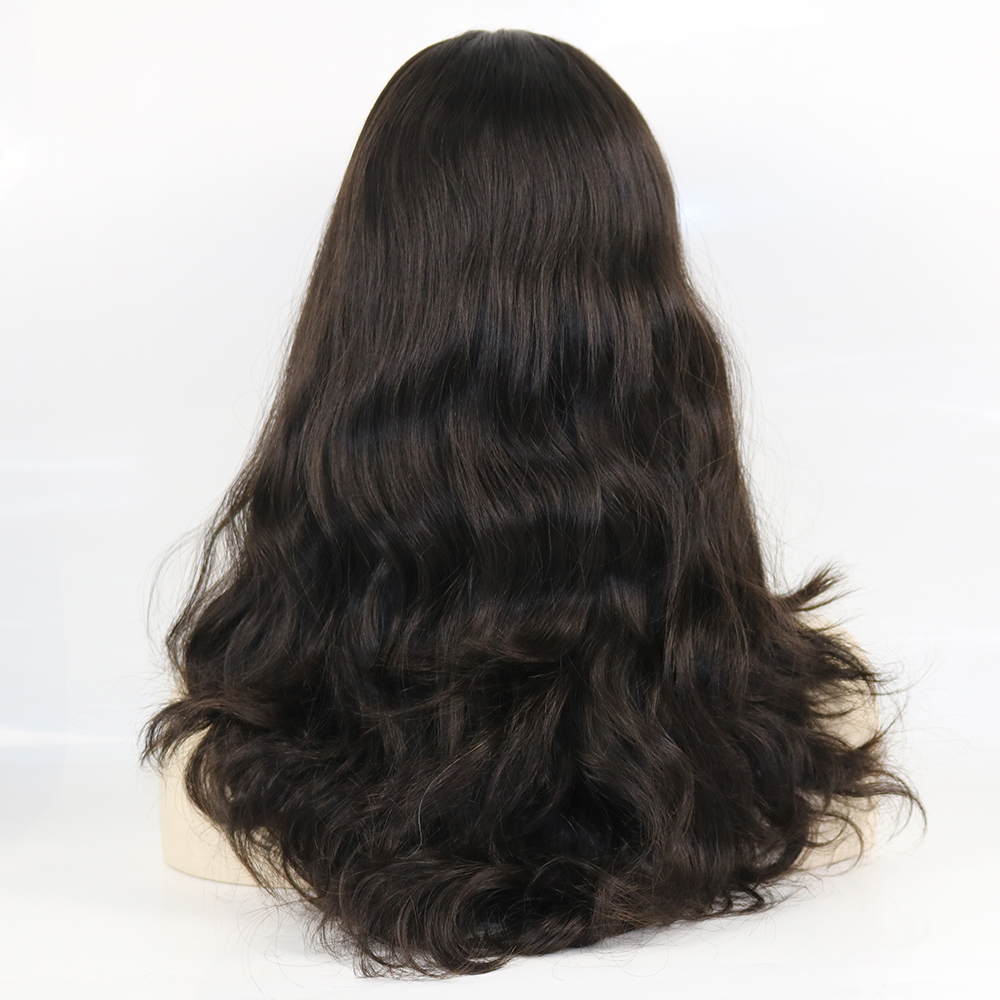 Eversilky 100 European Virgin Human Hair 4x4 Silk Base Top Natural Loose Wave Kosher Wigs Loose