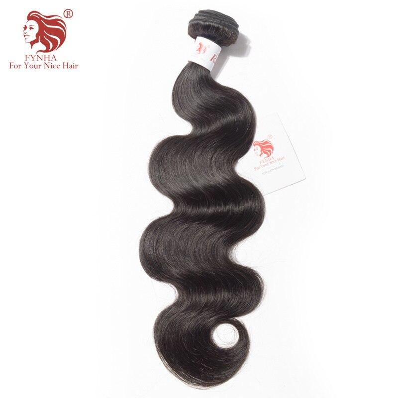 FYNHA Brazilian font b Hair b font Weave Bundles Remy font b Hair b font