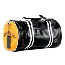 Hot Top PU kültéri sportpálya táska Multifunkciós edzés Fitness válltáska cipővel Zseb vegyes színek Utazás jóga táska