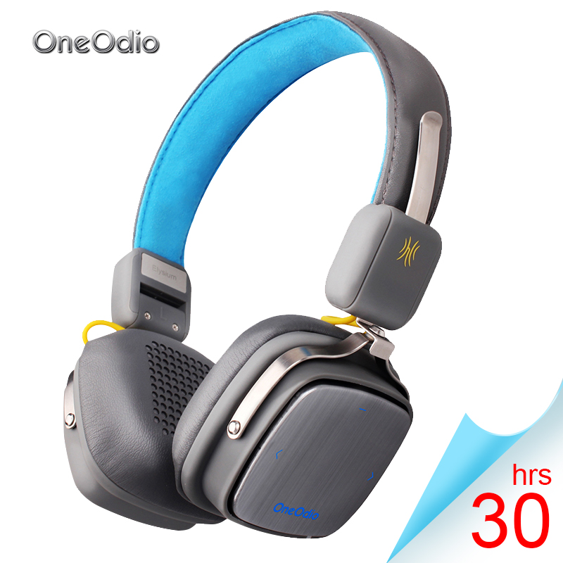 Oneodio Bluetooth Earphone Sport Stereo Wireless Headphones 4.1 Headset Bluetooth Earphone For Phone Over Ear Wireless Headphone universal led sport bluetooth wireless headset stereo earphone ear hook headset for mobile phone with charger cable