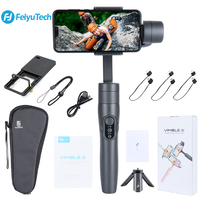 FeiyuTech Vimble 2 Gimbal 3 Axis Handheld Smartphone Stabilizer with 183mm Extension Pole Tripod for Phone Gopro Camera