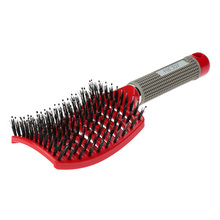 Abody Bristle Hair Brush Nylon Detangle Hairbrush Women Hair Scalp Massager Comb for Salon Hairdressing Comb Styling Tools