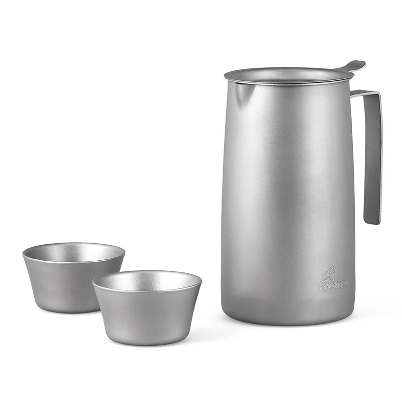 Fire Maple Outdoor Titanium Tea Maker Tea Filter Tea Set Cup Kettle Tea ware FMP-T320 Free Shipping free shipping 250g far from pretty tea raw tea page 2