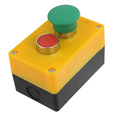 1 нет N/O 1 НЗ N/C зеленый гриб Красный кнопочный переключатель Управление станции не замок