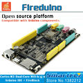 Fireduino PC Combine Arduino STEM education scratch Graphic program IOT development board pcduino wifi module ARM Cortex M3 demo