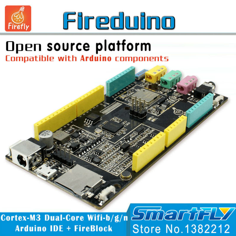 Fireduino PC Kombinieren Arduino STEM bildung scratch Grafik programm IOT entwicklungsboard pcduino...
