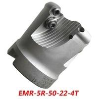 Frete Grátis EMR 5R 50 22 4T de Face Fresa Ferramentas Para RPMW1003MO Carbide Insere Adequada Para Máquina NC/CNC|milling cutter tools|milling cutter|face milling cutter -