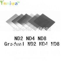 6pcs צבע מסנן ND2 ND4 ND8 + הדרגתי ND2 ND4 ND8 מסנן סט f cokin p
