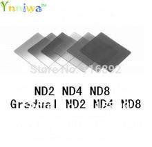6pcs color filter  ND2 ND4 ND8 + Gradual ND2 ND4 ND8 filter set f cokin p