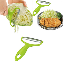 Stainless Steel Fruit Vegetable Slicer Peeler Cabbage Grater Salad Potato Cutter