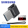 Оригинальный Samsung 3 1 USB флешка 200 м/300 м Usb флеш-накопитель 128 Гб 64 ГБ 32 ГБ 256 ГБ флеш-накопитель мини u-диск Флешка Usb ключ высокая скорость
