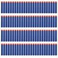 50 pcs Soft Head Eva Refill Nerf Soft Bullets Dart For Nerf N-strike Elite Series Blasters 7.2cm Soft Bullet For Kids Gun Toy