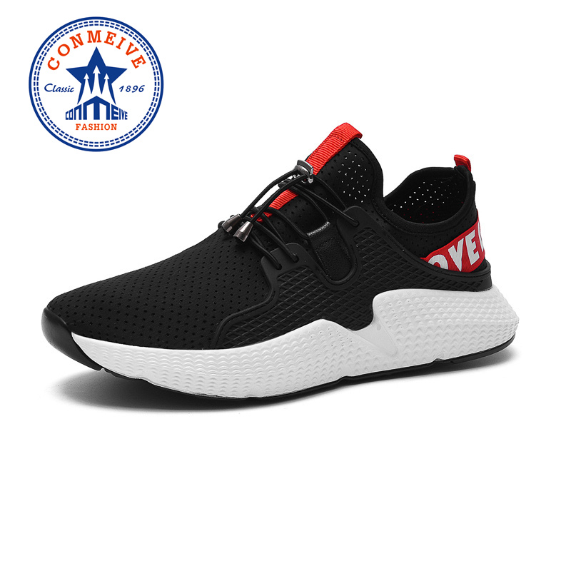 2018 Summer Men Sneakers Breathable Mesh Running Shoes Mens Outdoor Walking Jogging Shoes Cushioning Light Man Sport Shoes 2017 spring summer running shoes for men brand walking sneakers mesh breathable mens trainers jogging sport shoes cheap zapatos