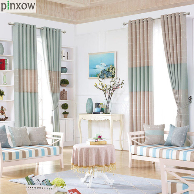 Moderne Bettwäsche Plaid Vorhänge Für Wohnzimmer Beige Mädchen ...