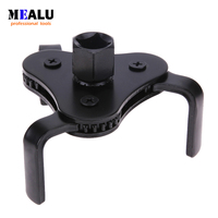Auto Car Repair Tools Adjustable Two Way Oil Filter Wrench Tool with 3 Jaw Remover Tool for Cars Trucks 62-102mm