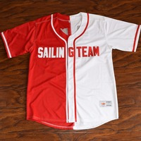 MM MASMIG Lil Boat Lil Yachty 44 Sailing Team Baseball Jersey Stitched White Red S 3XL