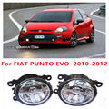 For FIAT PUNTO EVO  2010-2012 Fog Lamps LED Car Styling 10W Yellow White 2016 new lights