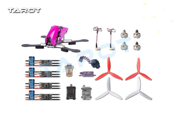 Tarot-carbon-fiber-robocat-280-FPV-set-w-Mini-CC3D-NANO-12A-mini-ESC-MT2204-motor