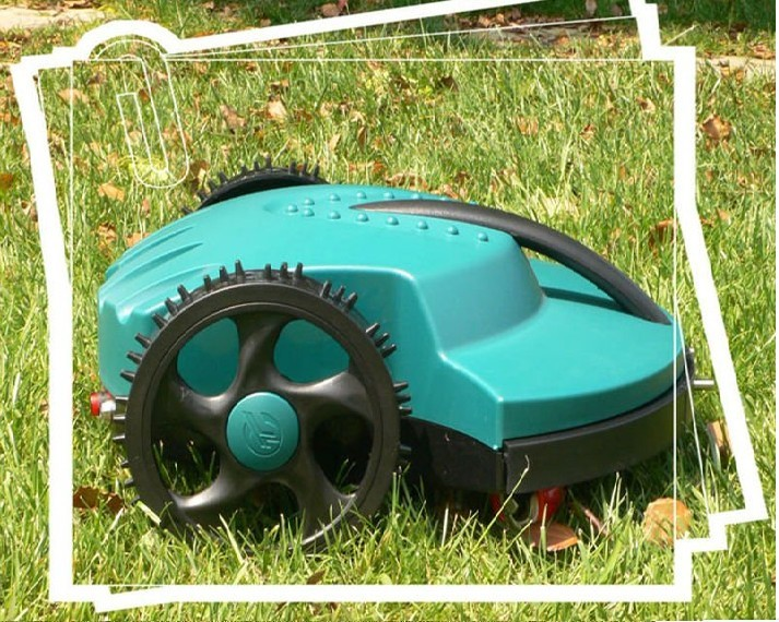 Grass Trimmer Home Robot Mower Garden Lawn Mower E1600t With 13.2ah Lithium Battery For Big Lawn With 400m+400pcs Pegs+20pcs Blade Punctual Timing