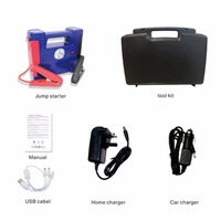 Multi Function 30000mAh Jump Starter Portable Size Emergency Start Battery Charger Engine Booster Power Bank for Car