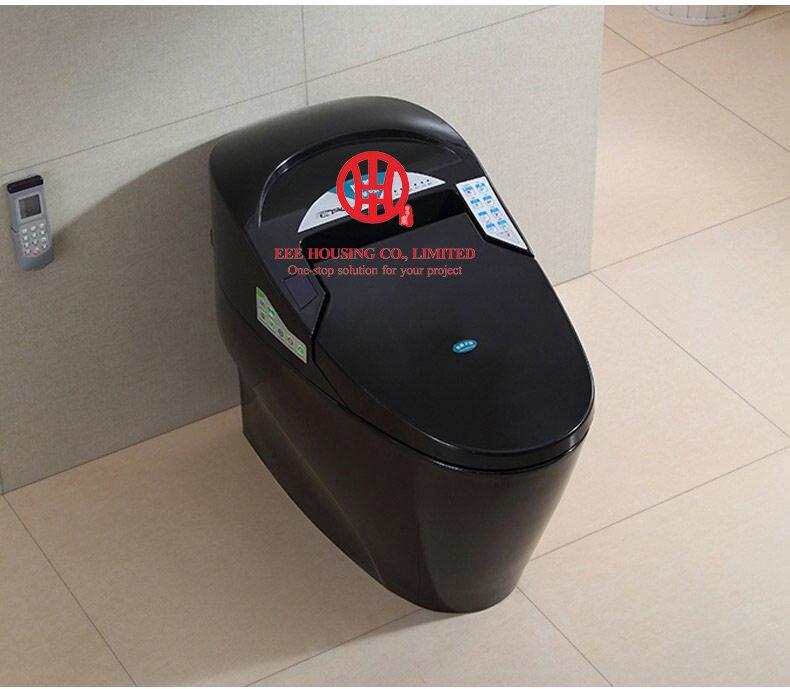 Комод Интеллектуальные Туалет смарт-Керамическая Туалет Северной Америке s-ловушки 110 В заводская цена автоматической очистки промывки ...