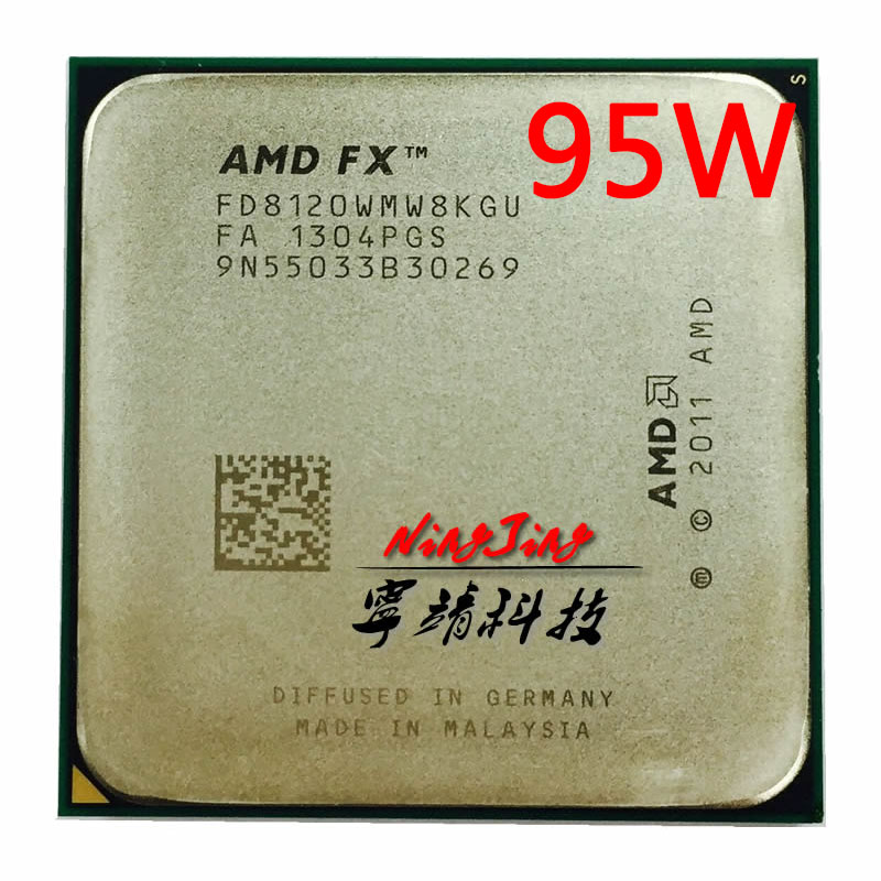 AMD FX Series FX 8120 FX8120 FX 8120 3.1 GHz 95W Eight Core CPU Processor FD8120WMW8KGU Socket AM3+-in CPUs from Computer & Office