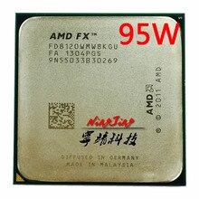 AMD fx series FX 8120 FX8120 FX 8120 3.1 GHz 95W ośmiordzeniowy procesor cpu FD8120WMW8KGU gniazdo AM3 +