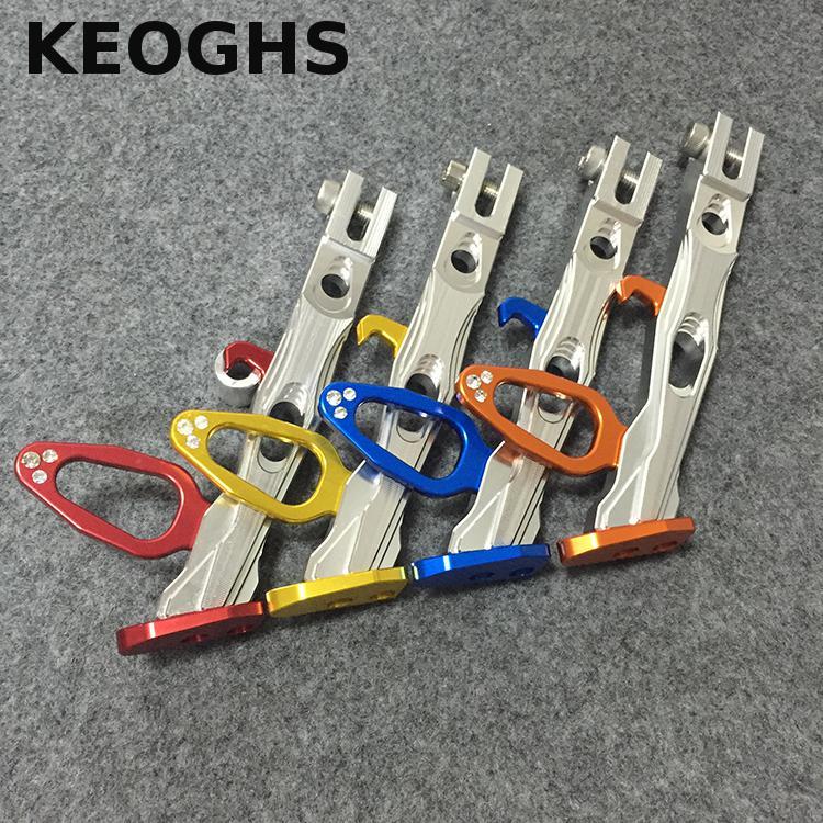 Keoghs béquille moto haute qualité CNC aluminium 200mm 240mm 280mm pour ornement beauté pour Yamaha Honda Scooter Msx125