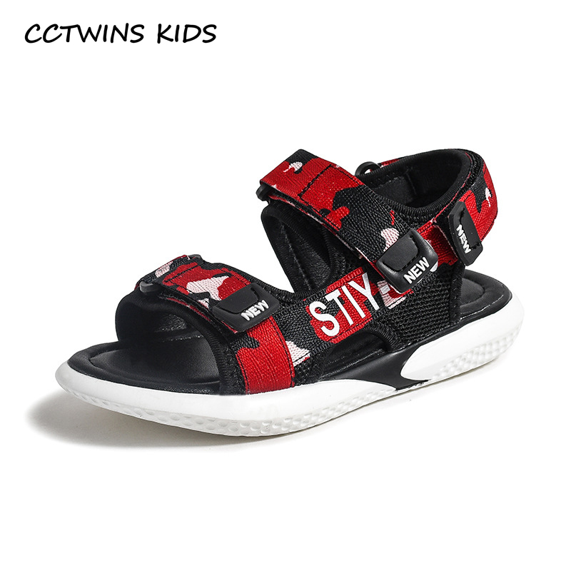 CCTWINS Kids Shoes 2019 Summer Boys Fashion Casual Sandals Children Beach Breathable Flats Toddler Baby Soft Barefoot Shoe BS384CCTWINS Kids Shoes 2019 Summer Boys Fashion Casual Sandals Children Beach Breathable Flats Toddler Baby Soft Barefoot Shoe BS384