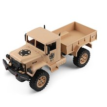 2019 New Wltoys 124301 1/12 2.4G 4WD 15km/h 45cm 390 Bruhed Rc Car 4.5kg Load Off-road Military Truck RTR Toy Viehicle Kids Gift