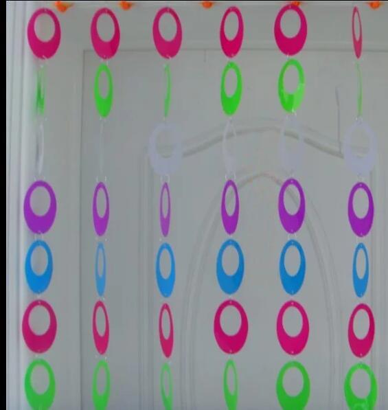 PVC Gordijn Cartoon Kinderkamer Decoratieve plastic Gordijnen Indoor ...