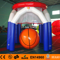 Free Shipping Sealed Airtight Basketball Goal Inflatable Sports Games with free CE Pump