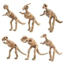 12pcs/set Jurassic World dinosaur fossil model toys for children boys plastic action figures animals kids toy