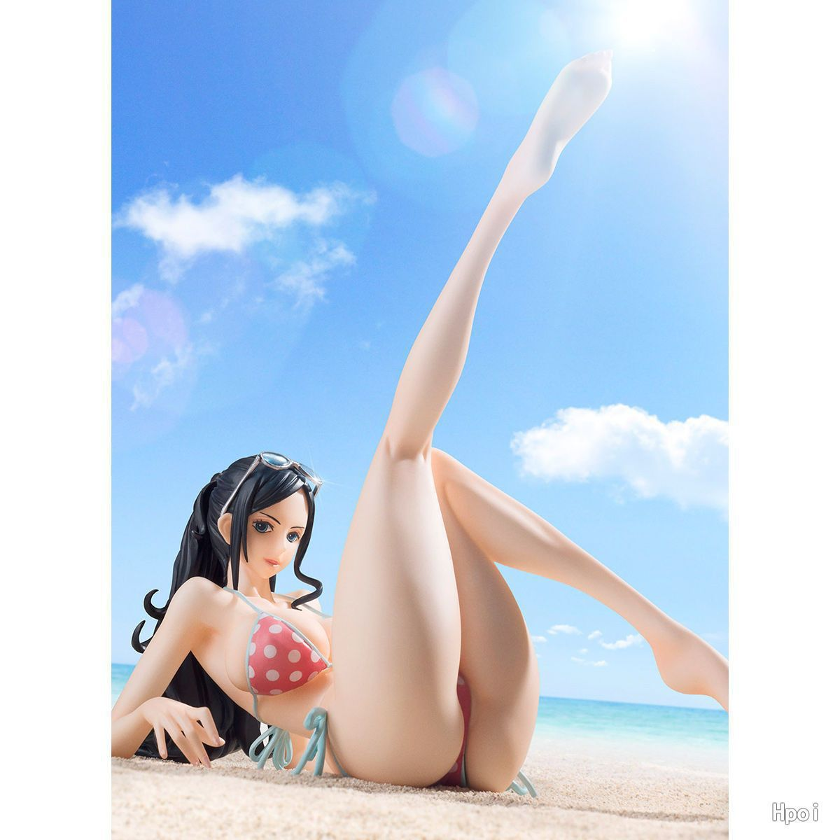One Piece Sexy Girl MegaHouse Nico Robin Miss Allsunday Action Figures With Bikini Set Model Toys 16cm