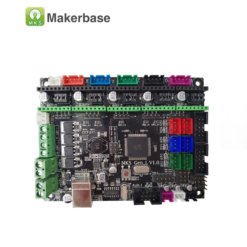 mks gen l  3D printer board MKS Gen L V1.0 controller compatible with Ramps1.4 ...