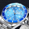 Fashion WINNER Men Luxury Brand Date Display Stainless Steel Watch Automatic Mechanical Wristwatch Gift Box Relogio