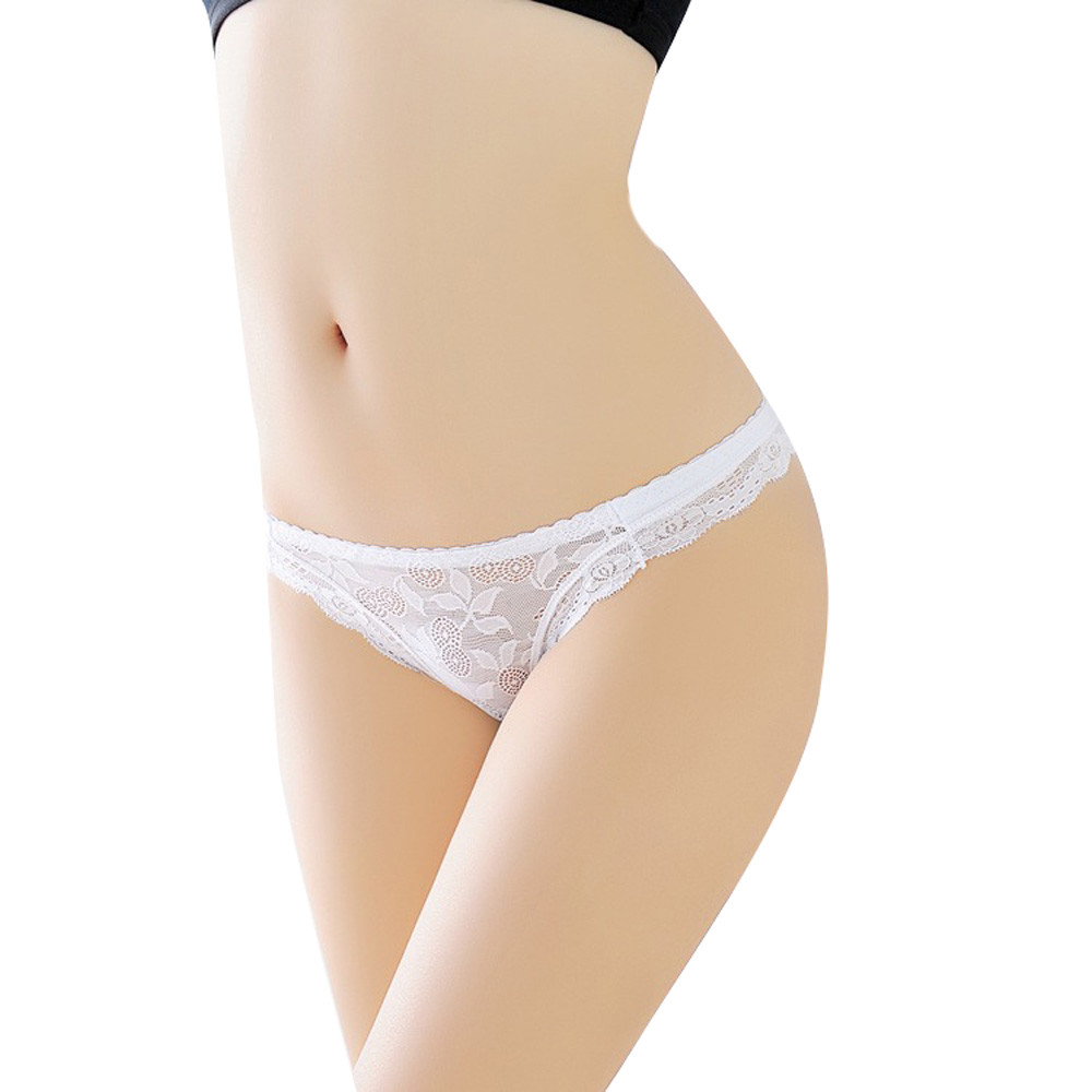 Newest Women G String Sexy Underwear Transparent Super Thin Sexy Lace Panties Seamless Breathable Hollow Briefs Girl Underwear