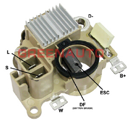 14v alternator voltage regulator md350608 231007b000 for nissan Triumph Voltage Regulator Wiring
