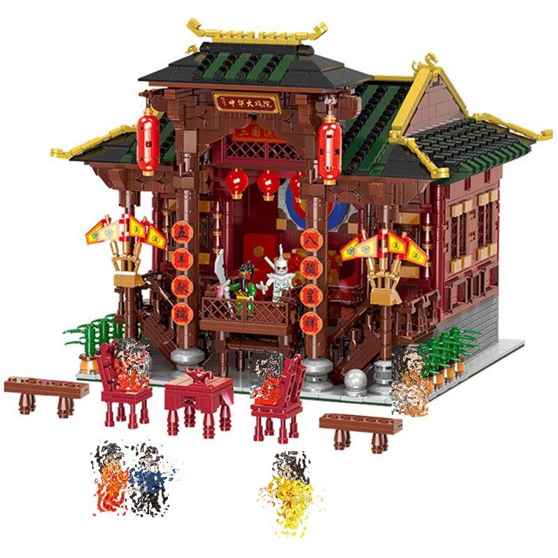 Aliexpress.com : Buy 01020 3820Pcs Chinese Building Series ...