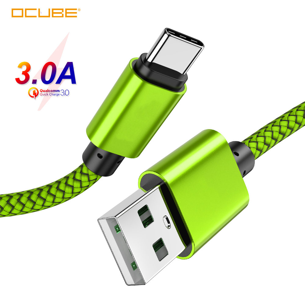 USB Type C Charging <font><b>Cable</b></font> For Samsung Galaxy A6/A8/Plus 2018 A3/A5/A7 2017 S8 <font><b>1</b></font>/<font><b>2</b></font>/3 Meter Long Mobile Phone Charger Short Cord image