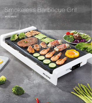 Smokeless Barbecue Grill Korean Style Household BBQ Griddle Plate Machine Multifunctional Electric Grill Pan Machine commercial electric grill barbecue kitchen bbq grill counter electrical stainless steel griddle churrasqueira eletrica eg 818b