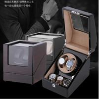 Mute Motor Shaker Import Movement Automatic Mechanical Watch Winding Box Transducer Winding Swinging Table Transparent Cover