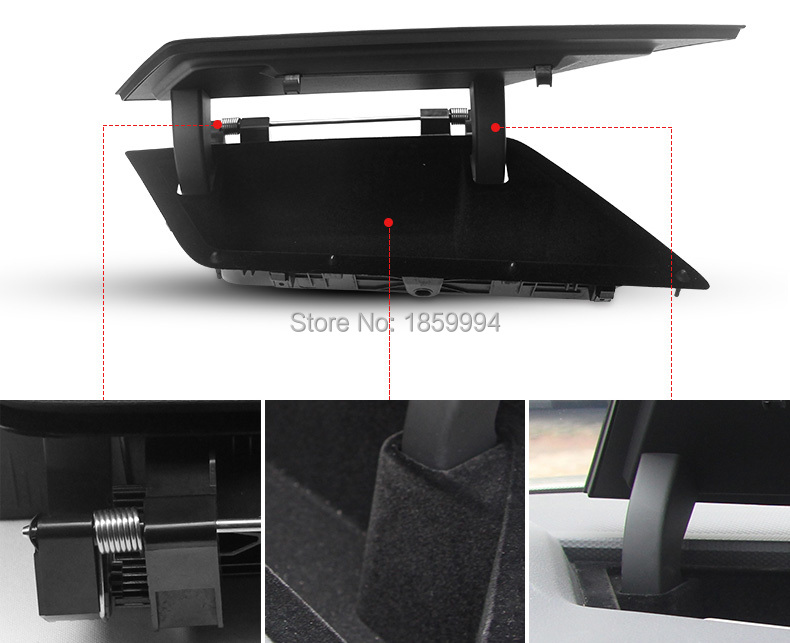 For 2016 2017 2018 Vw Tiguan Mk2 Front Central Console Dashboard Storage Box Holder 5ng857922a In Interior Mouldings From Automobiles Motorcycles On
