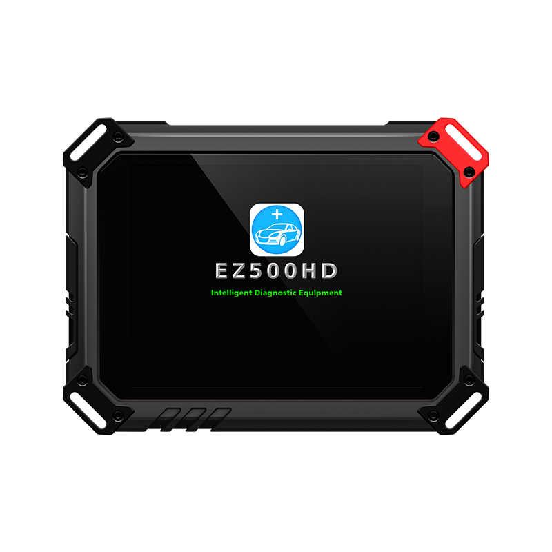 Xtool EZ500 HD الثقيلة تعمل تقريبا جميع نماذج الشاحنات مع نظام واي فاي التشخيص ووظيفة خاصة نفس Xtool PS80