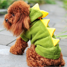 Pet provides Canine clothes Pet Cat Cute Dinosaur Fairly pet Hoodies Costumes Garments Attire T shirt fleece pet canine garments
