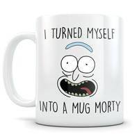 Rick And Morty Mug Pickle Rick Parody Mugs Coffee Wedding Cup Home Decal Tea Cup Engagement